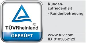 Wertgarantie TÜV-Siegel