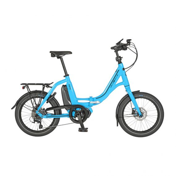 E-bike KES800 faltbar Compact himmelblau